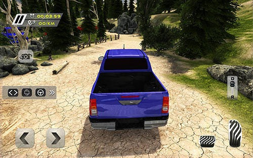 Hilux Offroad Hill Climb Truck Android Game Image 1