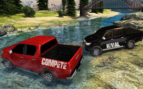 Hilux Offroad Hill Climb Truck Android Game Image 2