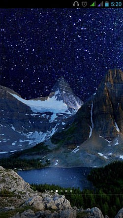 Mountain Lake Android Mobile Phone Wallpaper Image 2