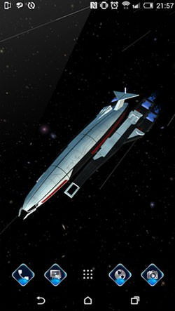 Andromeda Journey Android Wallpaper Image 1