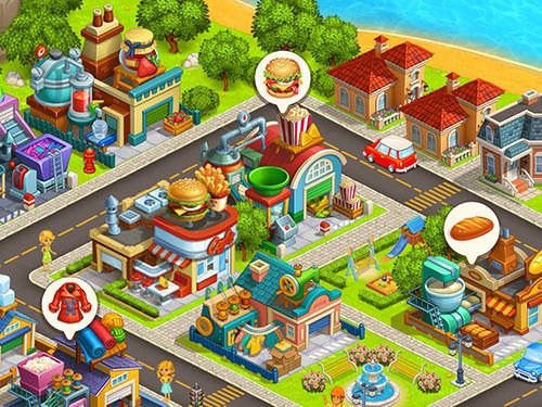 Cartoon City 2: Farm To Town Android Mobile Phone Game Image 1