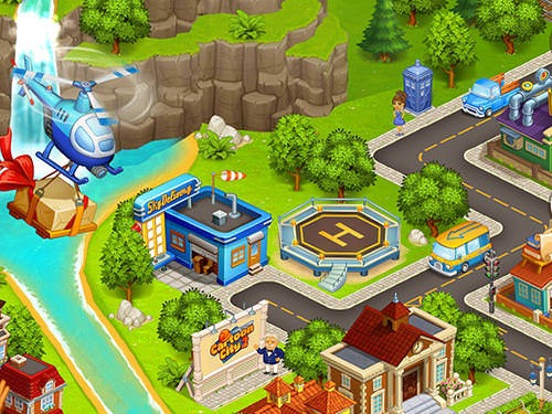 Cartoon City 2: Farm To Town Android Mobile Phone Game Image 2
