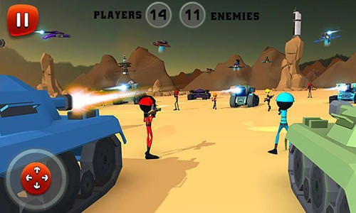 Creepy Aliens Battle Simulator 3D Android Game Image 2
