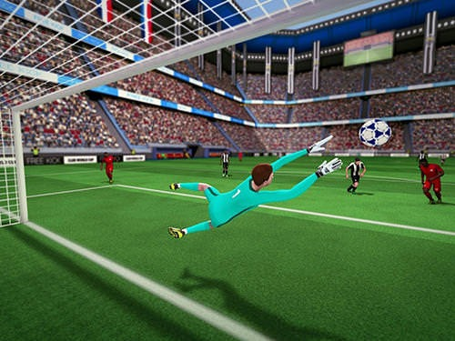 Free Kick Club World Cup 17 Android Mobile Phone Game Image 1
