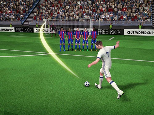 Free Kick Club World Cup 17 Android Mobile Phone Game Image 2