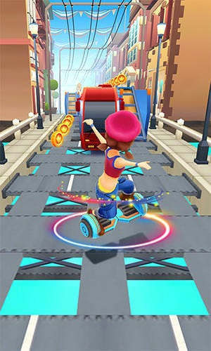 Hoverboard Rush Android Mobile Phone Game Image 1