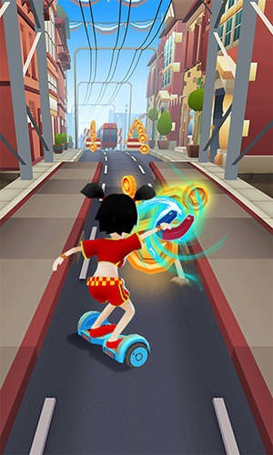 Hoverboard Rush Android Mobile Phone Game Image 2