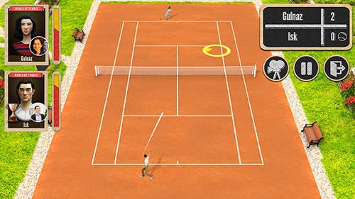 World Of Tennis: Roaring 20's Android Mobile Phone Game Image 1