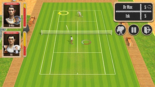 World Of Tennis: Roaring 20's Android Mobile Phone Game Image 2