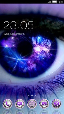 Eye CLauncher Android Theme Image 1