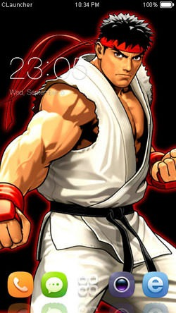 Ryu CLauncher Android Theme Image 1