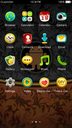 Android CLauncher Android Mobile Phone Theme Image 2