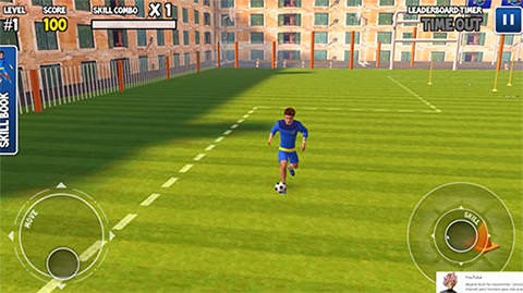 Freestyle Football 3D Android Game Image 1