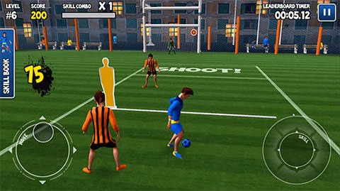 Freestyle Football 3D Android Game Image 2