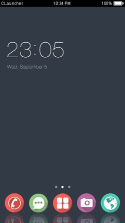 Download Free Android Theme Simple CLauncher - 2679