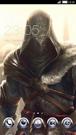 Assassin Creed CLauncher Android Theme Image 1