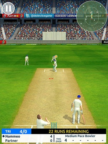 Cricket Megastar Android Mobile Phone Game Image 1