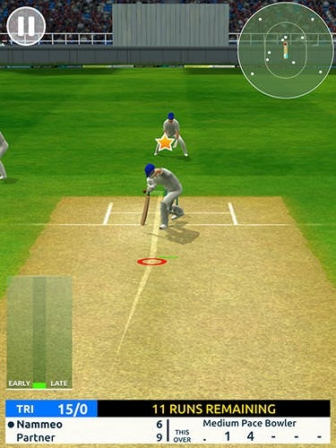 Cricket Megastar Android Mobile Phone Game Image 2
