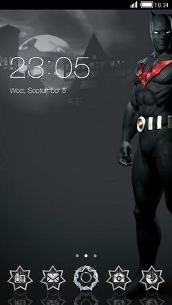 Batman CLauncher Android Mobile Phone Theme Image 1