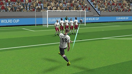 Flick Soccer Summer Cup 2017 Android Game Image 2