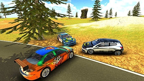 Lancer Evo Drift Simulator Android Mobile Phone Game Image 1