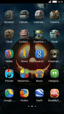 Halloween CLauncher Android Theme Image 2