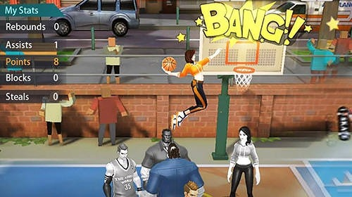 Hoop Legends: Slam Dunk Android Game Image 2