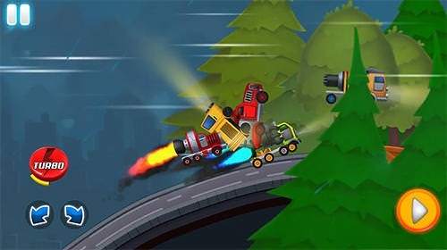 Jet Truck Racing: City Drag Championship Android Mobile Phone Game Image 1