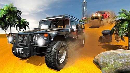 Offroad Car H Android Mobile Phone Game Image 1