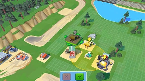 Planet Gold Rush Android Mobile Phone Game Image 1