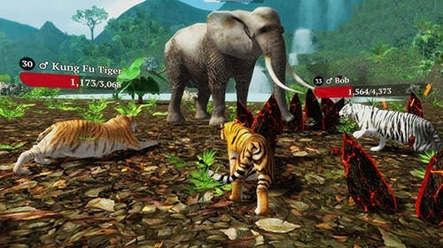 The Tiger: Online Simulator Android Mobile Phone Game Image 1