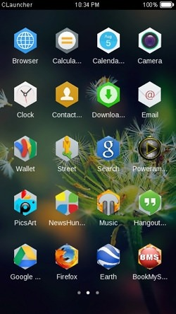 Dandelion CLauncher Android Mobile Phone Theme Image 2
