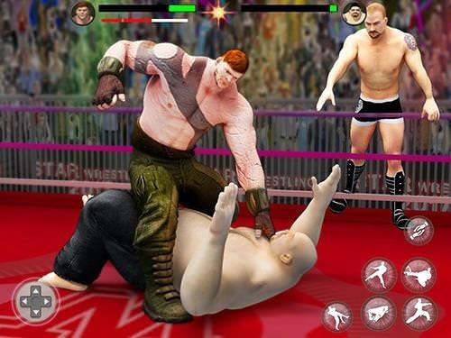 World Tag Team Wrestling Revolution Championship Android Game Image 2