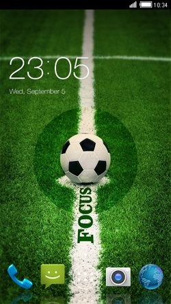 Football CLauncher Android Theme Image 1