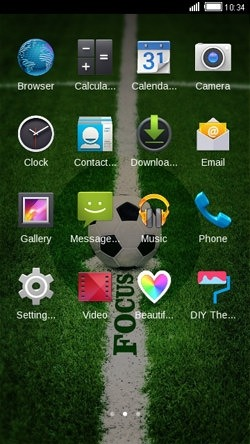Football CLauncher Android Theme Image 2