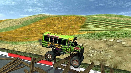 Monster Trucks X: Mega Bus Race Android Game Image 2