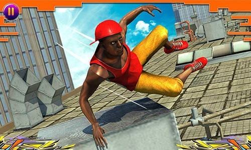 City Parkour Sprint Runner 3D Android Mobile Phone Game Image 1