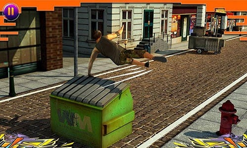 City Parkour Sprint Runner 3D Android Mobile Phone Game Image 2