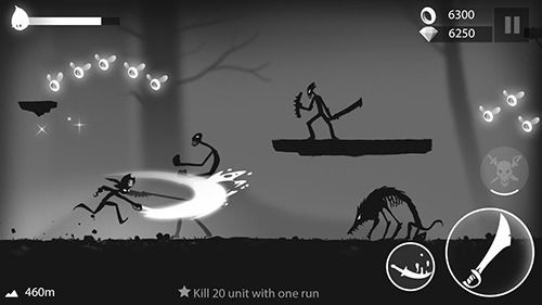 Stickman Run: Shadow Adventure Android Game Image 1