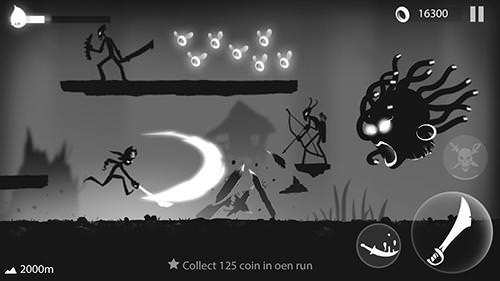 Stickman Run: Shadow Adventure Android Game Image 2