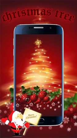 Christmas Tree Android Wallpaper Image 1