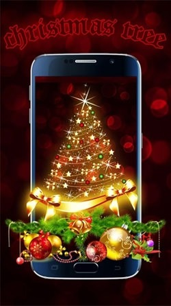 Christmas Tree Android Wallpaper Image 2