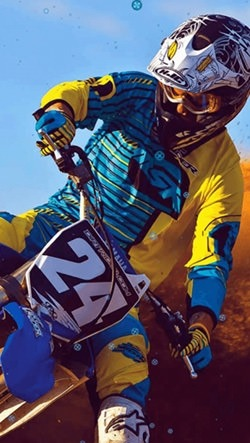 Extreme Bikes Android Wallpaper Image 1