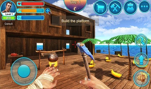 Ocean Survival 3D 2 Android Game Image 1