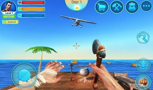 Ocean Survival 3D 2 Android Game Image 2