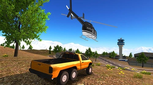 6x6 Offroad Truck Driving Simulator Android Mobile Phone Game Image 2