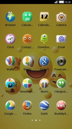 Emoji CLauncher Android Mobile Phone Theme Image 2