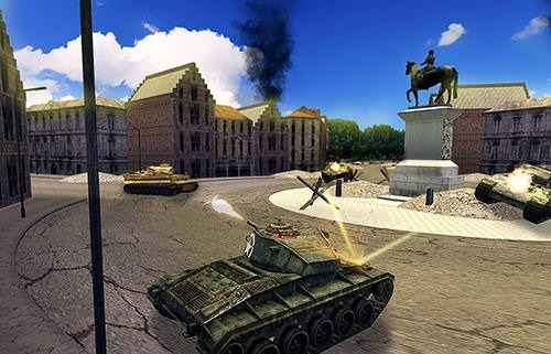 Tank Battle 3D: WW2 Warfare Android Game Image 2