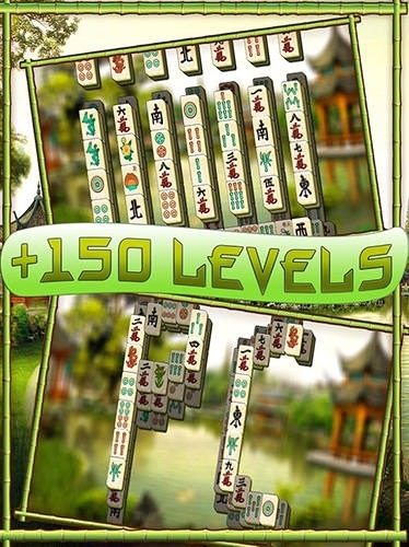 Mahjong Solitaire Sakura Android Mobile Phone Game Image 1