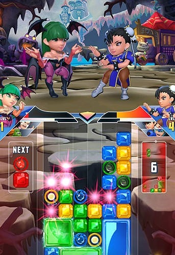 Puzzle Fighter Android Mobile Phone Game Image 1